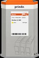 Prindo Tintenpatrone Gelb PRIBLC985Y LC-985 ~260 Seiten Prindo BASIC: DIE preiswerte Alternative, To
