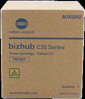 Konica Minolta Toner gelb A0X5252 TNP22Y ~6000 Seiten