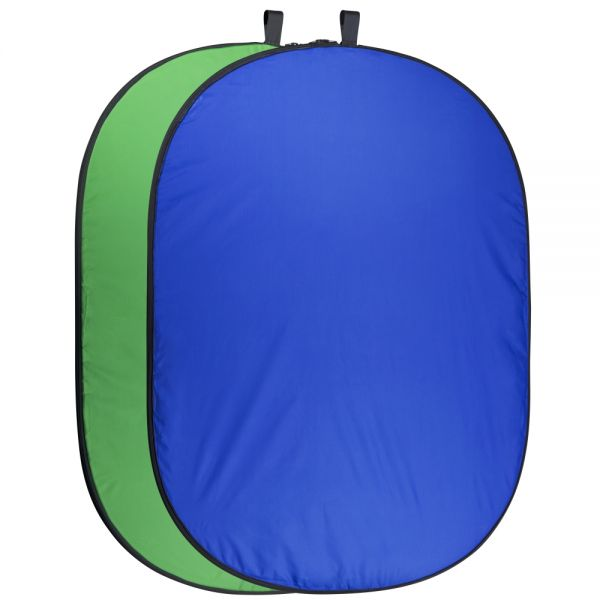 Miglior prezzo Foldable Background 200 x 230 blue/green -