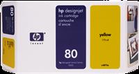 HP Tintenpatrone gelb C4873A 80 175ml