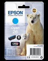 Epson Tintenpatrone Cyan C13T26124012 T2612 ~300 Seiten 4.5ml