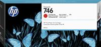 HP Tintenpatrone Chromatic Red P2V81A 746 300ml