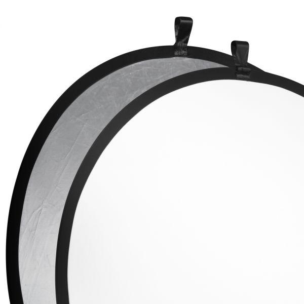 Walimex Faltreflektor silber/wei?, ?107cm