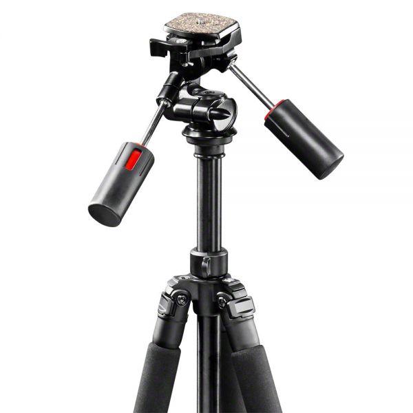 Miglior prezzo walimex pro fibra di carbonio Tripod, 140cm incl. 3D Pan Head -