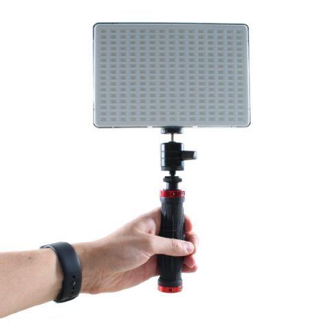 Falcon Eyes Bi-Color LED Lampe Set Dimbar DV-240SL-K1 inkl. Accu