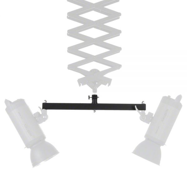 Miglior prezzo walimex Double Mounting Bracket for Ceiling Rail -