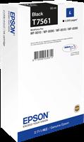 Epson Tintenpatrone schwarz C13T756140 T7561 ~2500 Seiten 50ml