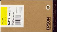 Epson Tintenpatrone gelb C13T612400 T6124 220ml