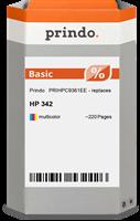 Prindo Tintenpatrone color PRIHPC9361EE 342 ~220 Seiten Prindo BASIC: DIE preiswerte Alternative, To