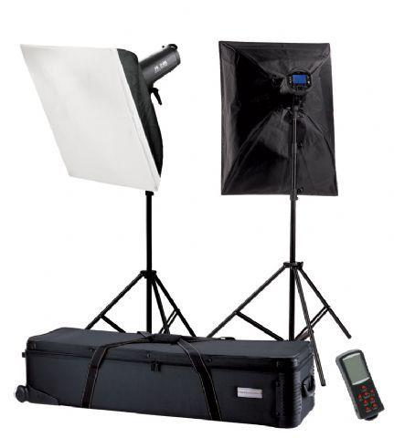 Falcon Eyes Studioblitz Set TFK-2400L mit LCD-Schirm