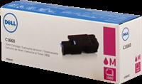 Dell Toner magenta 593-11128 V3W4C / 4J0X7 ~1000 Seiten Standardkapazität