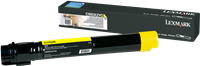 Lexmark Toner gelb X950X2YG ~22000 Seiten hohe Kapazität