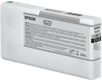 Epson Tintenpatrone Schwarz (hell) C13T913700 T9137 200ml Ultrachrome® HDR