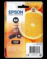 Epson Tintenpatrone schwarz (Foto) C13T33414012 T3341 4.5ml
