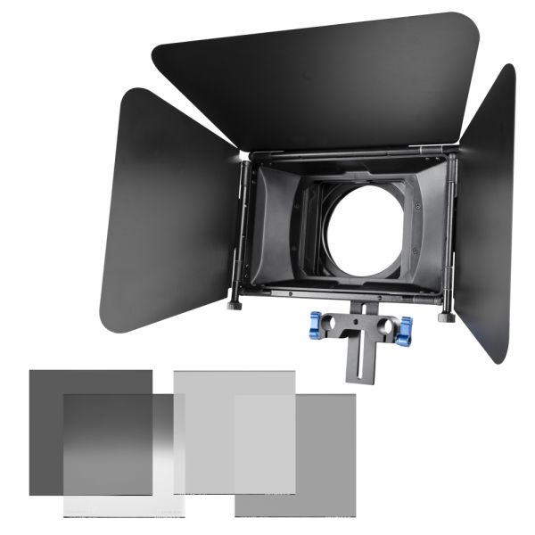 Miglior prezzo walimex pro Matte Box Director I Kit+gray filters -