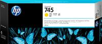 HP Tintenpatrone Gelb F9K02A 745 300ml