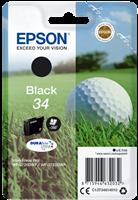 Epson Tintenpatrone Schwarz C13T34614010 T3461 ~350 Seiten 6.1ml 34