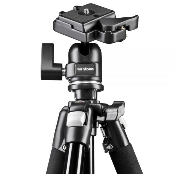 Miglior prezzo mantona Scout MAX tripod with ball head 157cm -