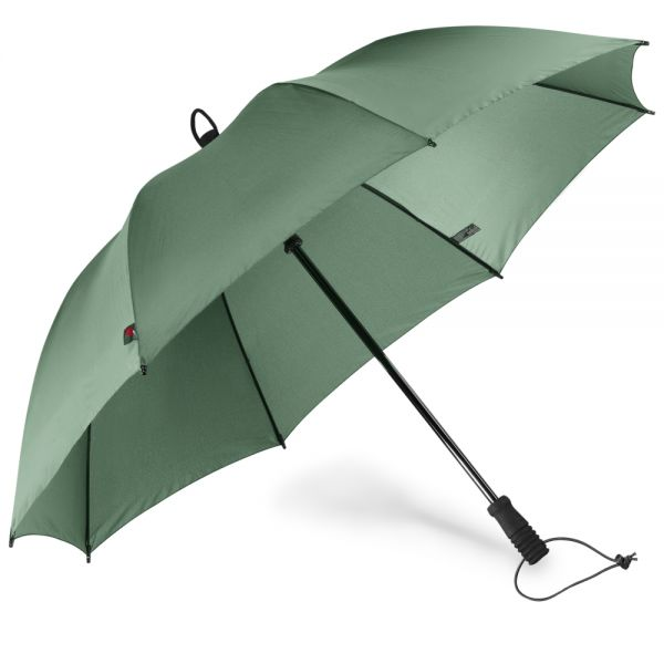 Swing handsfree Regenschirm oliv