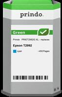 Prindo Tintenpatrone Cyan PRIET2992G Green ~450 Seiten Prindo GREEN: Recycelt & aufwendig aufbereite