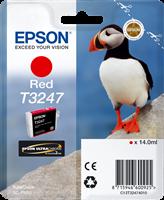 Epson Tintenpatrone Rot C13T32474010 T3247 ~980 Seiten 14ml
