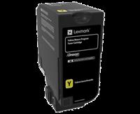 Lexmark Toner Gelb 74C20Y0 ~3000 Seiten Rückgabe-Druckkassette