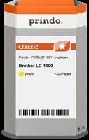 Prindo Tintenpatrone gelb PRIBLC1100Y LC-1100 ~325 Seiten Prindo CLASSIC: DIE Alternative, Top Quali