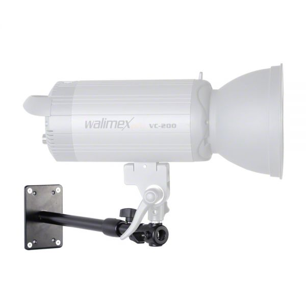 Walimex pro Wand-/ Deckenstativ 34-54cm