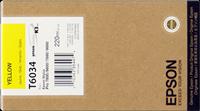 Epson Tintenpatrone gelb C13T603400 T6034 220ml