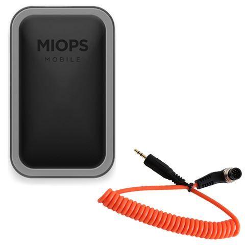 Miops Mobile Remote Trigger mit Nikon N1 Kabel