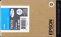 Epson Tintenpatrone cyan C13T617200 T6172 ~7000 Seiten 100ml hohe Kapazität