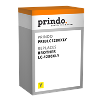 Prindo Tintenpatrone Gelb PRIBLC1280XLY LC-1280XL ~1200 Seiten Prindo BASIC: DIE preiswerte Alternat
