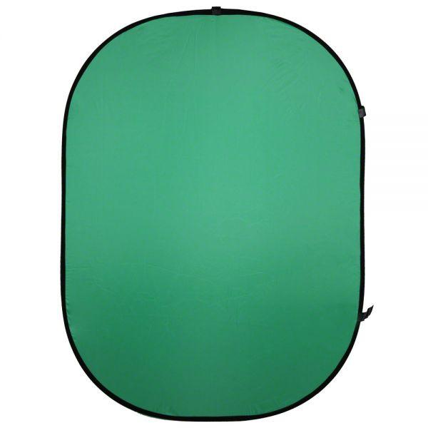 Walimex pro Falthintergrund grün, 150x200cm