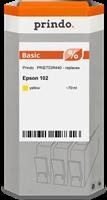 Prindo Tintenpatrone Gelb PRIET03R440 102 70ml Prindo BASIC: DIE preiswerte Alternative, Top Qualitä