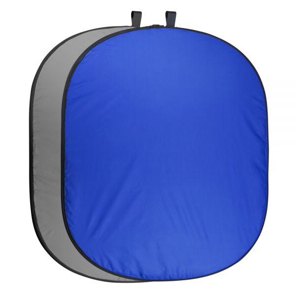 Miglior prezzo Foldable Background 200 x 230 blue – gray -