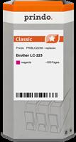 Prindo Tintenpatrone magenta PRIBLC223M LC-223 ~550 Seiten Prindo CLASSIC: DIE Alternative, Top Qual