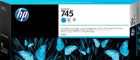 HP Tintenpatrone Cyan F9K03A 745 300ml