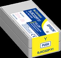 Epson Tintenpatrone gelb C33S020604 SJIC22P/Y 32.5ml