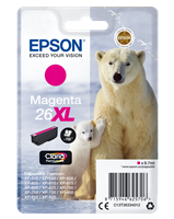 Epson Tintenpatrone magenta C13T26334012 T2633 ~700 Seiten 9.7ml C13T26334010