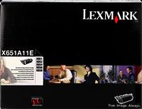 Lexmark Toner schwarz X651A11E ~7000 Seiten Druck Einheit, kombinierte Bildtrommel/Toner Rückgabekas