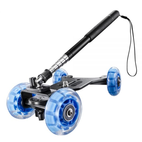 Miglior prezzo walimex pro Telescopic Mini Dolly for DSLR -