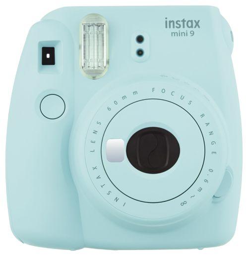 Fujifilm Instax mini 9 eisblau, Sofortbildkamera