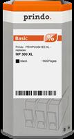 Prindo Tintenpatrone schwarz PRIHPCC641EE 300XL ~600 Seiten Prindo BASIC: DIE preiswerte Alternative