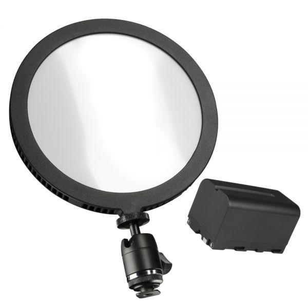 Walimex pro Soft LED 200 Round Daylight Akku Set