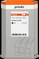 Prindo Tintenpatrone Schwarz PRIBLC22UBK LC-22 ~2400 Seiten Prindo CLASSIC: DIE Alternative, Top Qua
