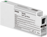 Epson Tintenpatrone Schwarz (light, light) C13T824900 T8249 350ml Ultrachrome HD, UltraChrome HDX