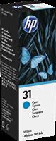 HP Tintenpatrone Cyan 1VU26AE 31 ~8000 Seiten 70ml