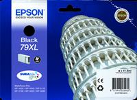 Epson Tintenpatrone schwarz C13T79014010 T7901 ~2600 Seiten 41.8ml 79XL