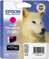 Epson Tintenpatrone magenta (vivid) C13T09634010 T0963 11.4ml