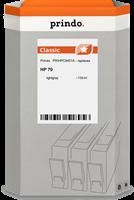 Prindo Tintenpatrone grau (hell) PRIHPC9451A 70 130ml Prindo CLASSIC: DIE Alternative, Top Qualität,